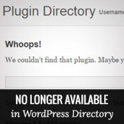 How to Check For Plugins No Longer in WordPress.org Directory