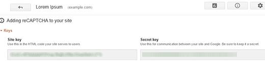 Copying Site and Secret Keys