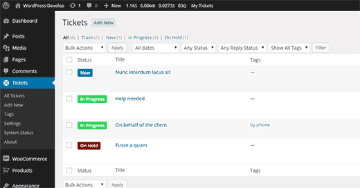 Awesome Support plugin for WordPress