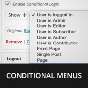 How to Add Conditional Logic to Menus in WordPress
