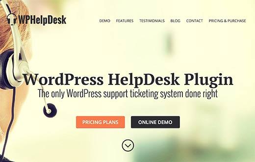 WP Help Desk