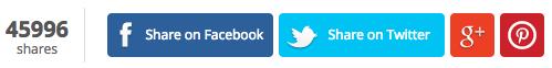 List25 Social Sharing Buttons