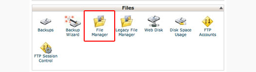 Using cPanel filemanager to delete your WordPress.org site