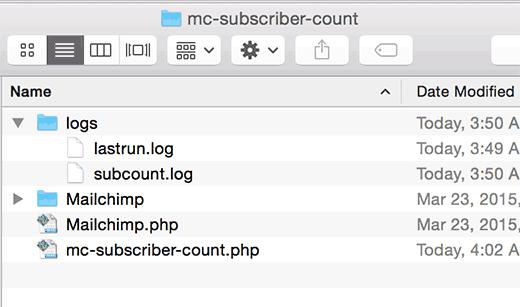 Final plugin file structure