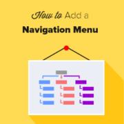 How to Add a Navigation Menu in WordPress (Beginner's Guide)