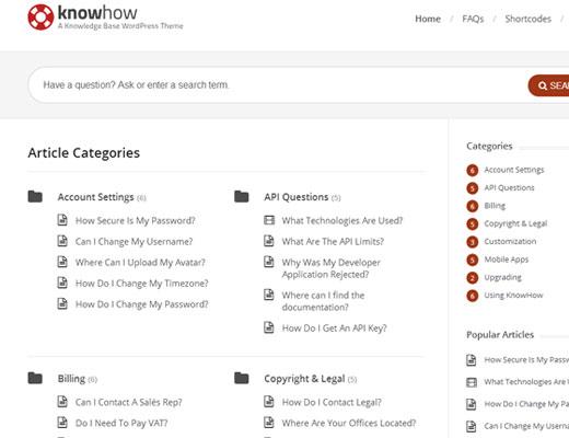 Create wiki knowledgebase in WordPress