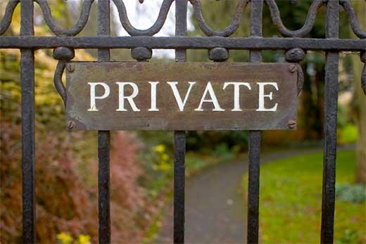 Private WordPress sites