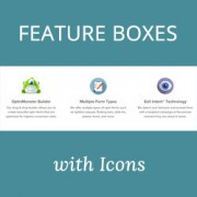 How to Add Feature Boxes With Icons in WordPress