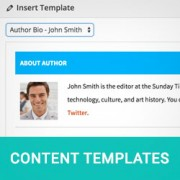 How to Add Content Templates in WordPress Post Editor