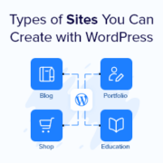 22 Popular Types of Websites You Can Make in WordPress (+Examples)