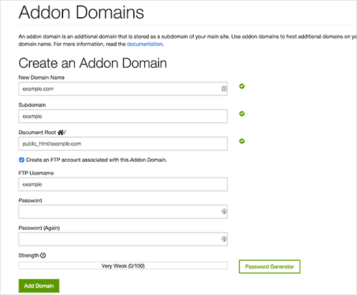 Adding domain to GoDaddy hosting