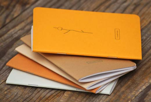 A pocket notebook is an easy way to track post ideas