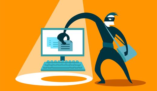防止图像盗窃