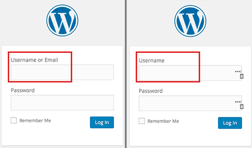 WordPress 4.5 will allow users to login with email address