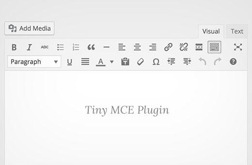 Tiny MCE toolbar in WordPress Visual Editor