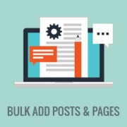 How to Bulk Add Posts and Pages in WordPress