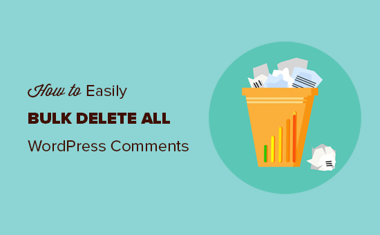 Easily delete all WordPress comments