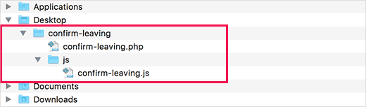 Plugin file structure
