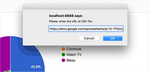 Adding URL to your Google Spreadsheet's CSV file