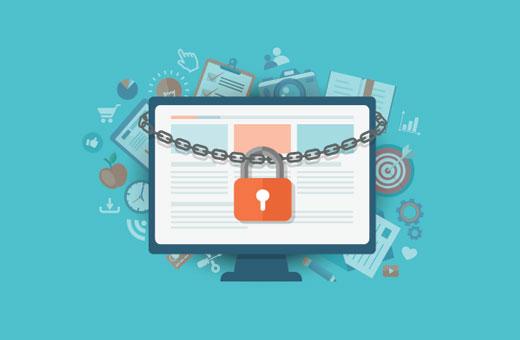 Adding content locking in WordPress