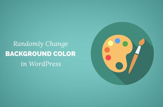 Adding random background colors in WordPress