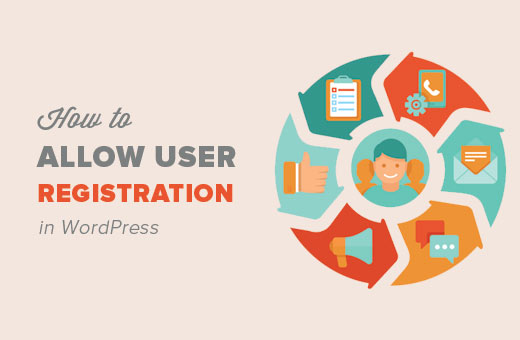 How to allow user registration in WordPress