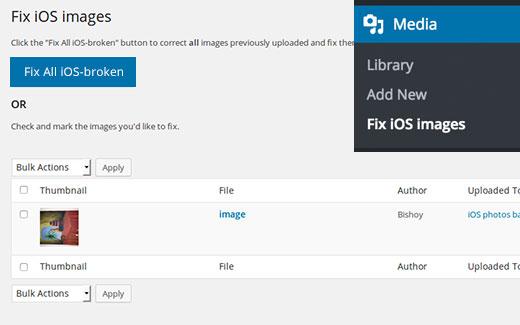 Sửa lỗi iOS lộn ngược hoặc hình ảnh bị lật trong WordPress
