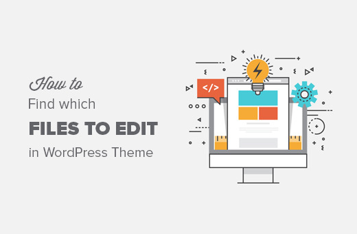 How to find which WordPress theme files to edit