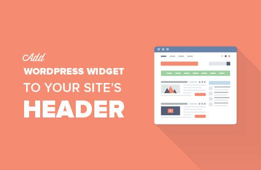 How To Add A Wordpress Widget To Your Website Header