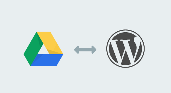 Google Drive to WordPress