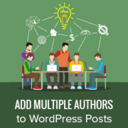 How to Add Multiple Authors (Co-Authors) for Posts in WordPress