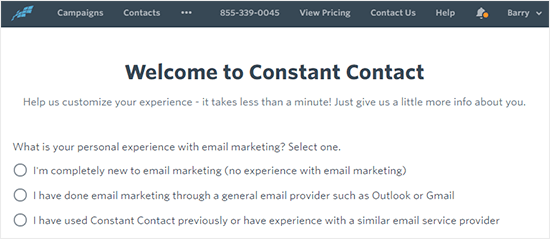 Welcome to constant contact