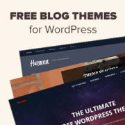 64 Best Free WordPress Blog Themes for 2021