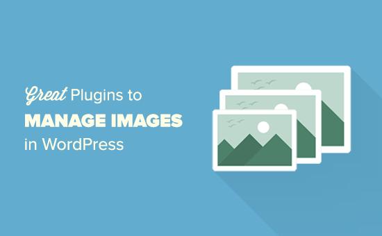 WordPress plugins to manage images