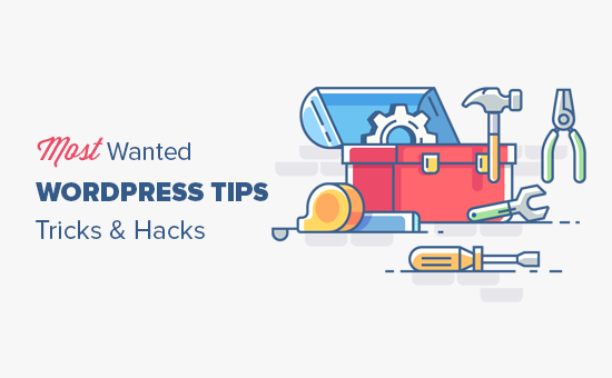 Most wanted WordPress tips, tricks, and hacks