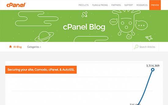 cPanel Blog