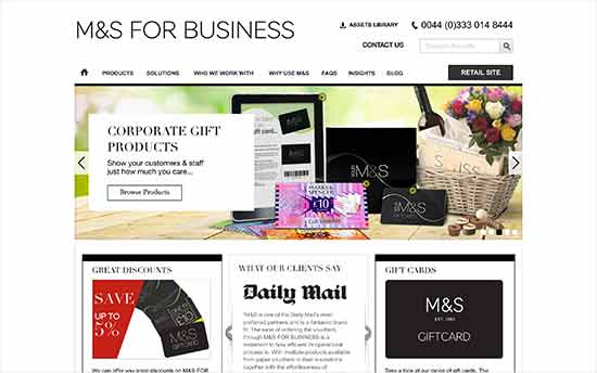 Marks & Spencer for Business