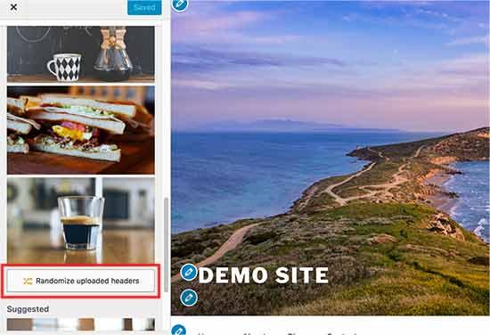Randomize header images in WordPress