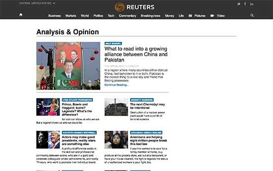 Reuters Blogs