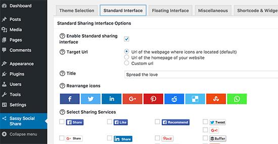 Wordpress to Buffer Social Sharing widgets
