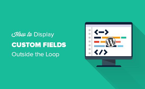How to display custom fields outside the WordPress loop