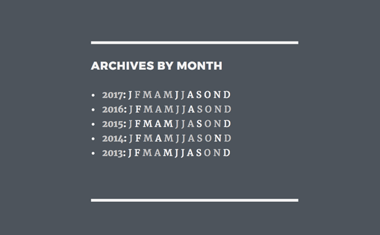 Compact Archives preview