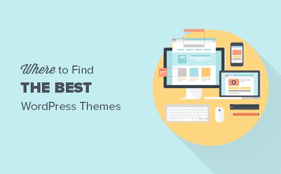 Where to find WordPress themes? Top WordPress theme Marketplaces