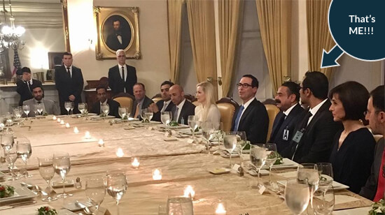U.S. Treasury Secretary Dinner