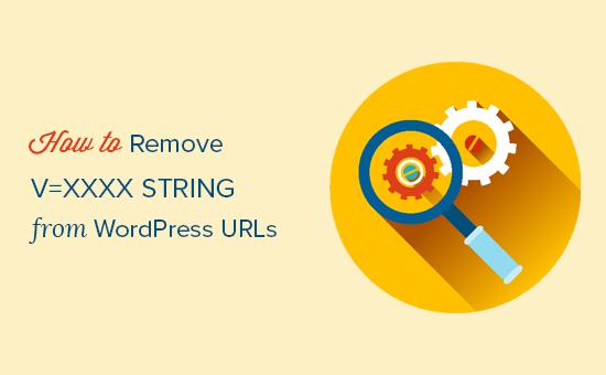 How to Remove v=xxxx string from WordPress URLs