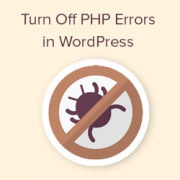 How to Turn Off PHP Errors in WordPress