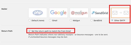 Choose Mailer
