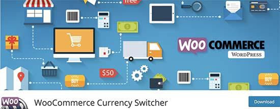 Commutatore di valuta WooCommerce