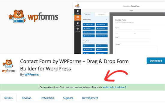 Help translate plugin notice on WordPress.org