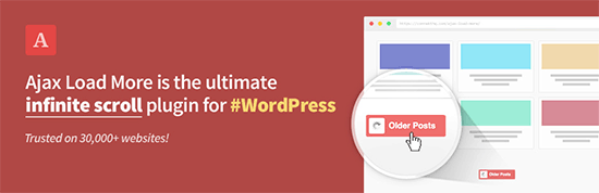 Load More - Infinite scroll for WordPress